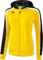 Erima Liga 2.0 Dames Trainingsjack - Jassen  - geel - 34