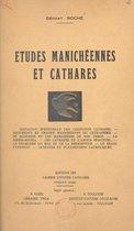 Études manichéennes et cathares