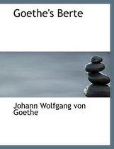Goethe's Berte