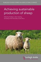 Boek cover Achieving sustainable production of sheep van Dr N. M. Schreurs