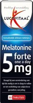 Lucovitaal Melatonine Forte One a Day 5 mg Voedingssupplement - 30 tabletten