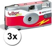 AgfaPhoto LeBox 400 27opn + flits - Multipack (3x)