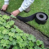 Ecorub Perkrand 15m langx10cm hoog tuin afboording