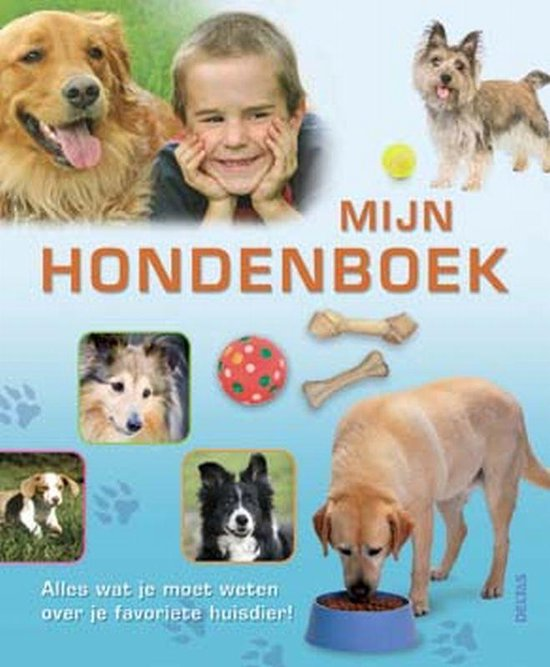 Cover van het boek 'Mijn hondenboek'