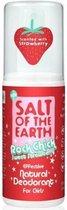 Salt-Of-The-Earth - Natural Deodorant Spray Rock Chick Sweet Strawberry ( Natura l Deodorant) 100 ml - 100ml