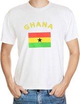 Ghana t-shirt met vlag 2xl