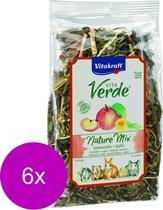 Vitakraft Vita-Verde Paardenbloem/Appel - Knaagdiersnack - 6 x 80 g