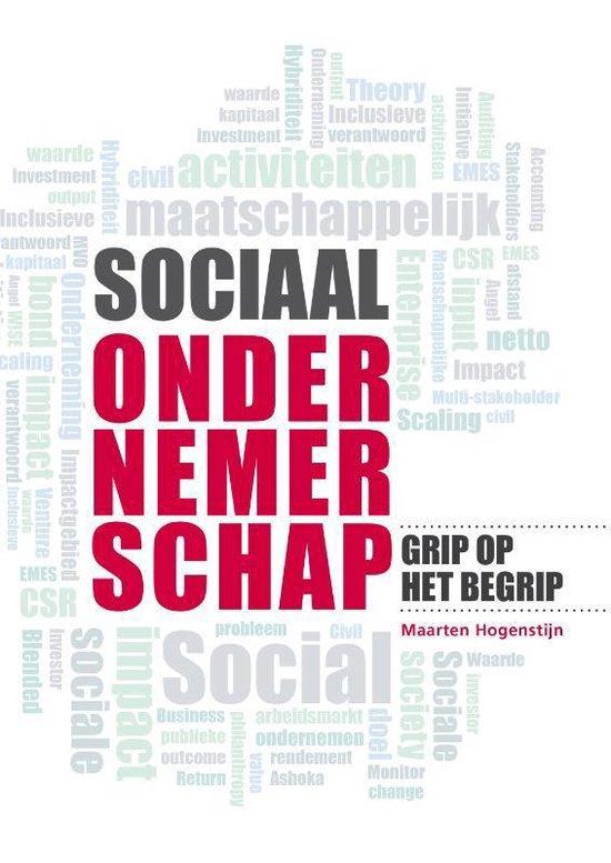 Sociaal ondernemerschap - Maarten Hogenstijn |
