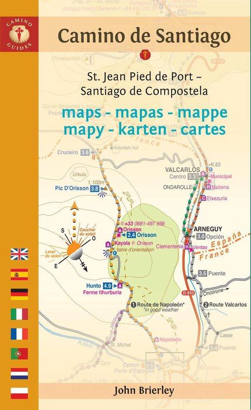 Camino de Santiago Maps - John Brierley |