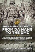 Boek cover Spreading Ink Blots from Da Nang to the DMZ van David Strachan-Morris