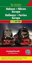 F&B Bahnen + Fähren Europa, Spoorwegkaart