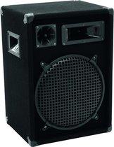 Omnitronic DX-1222 3-weg 300 W Zwart Bedraad