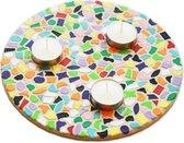 Mozaiek pakket Waxinelichthouder