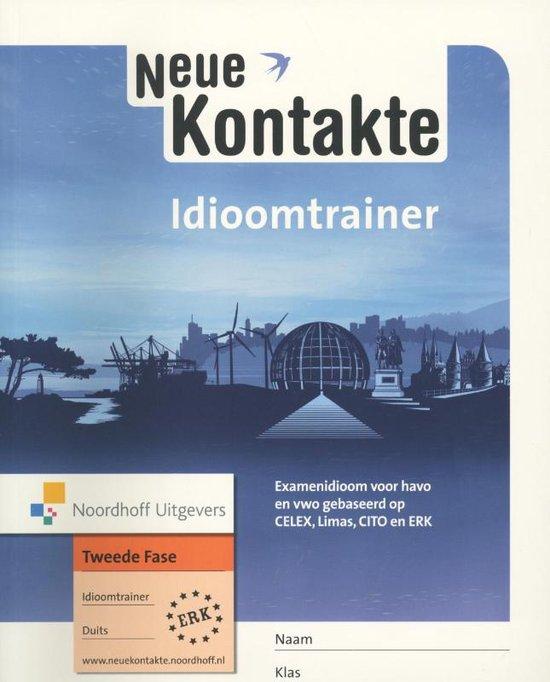 Idioomtrainer CE Duits havo/vwo Neue Kontakte - none  
