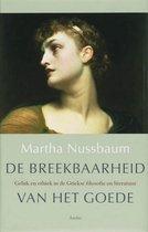 Boek cover De breekbaarheid van het goede van Martha Nussbaum