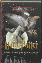 Boek cover Harry Potter 3 -   Harry Potter en de gevangene van Azkaban van Olly Moss (Hardcover)
