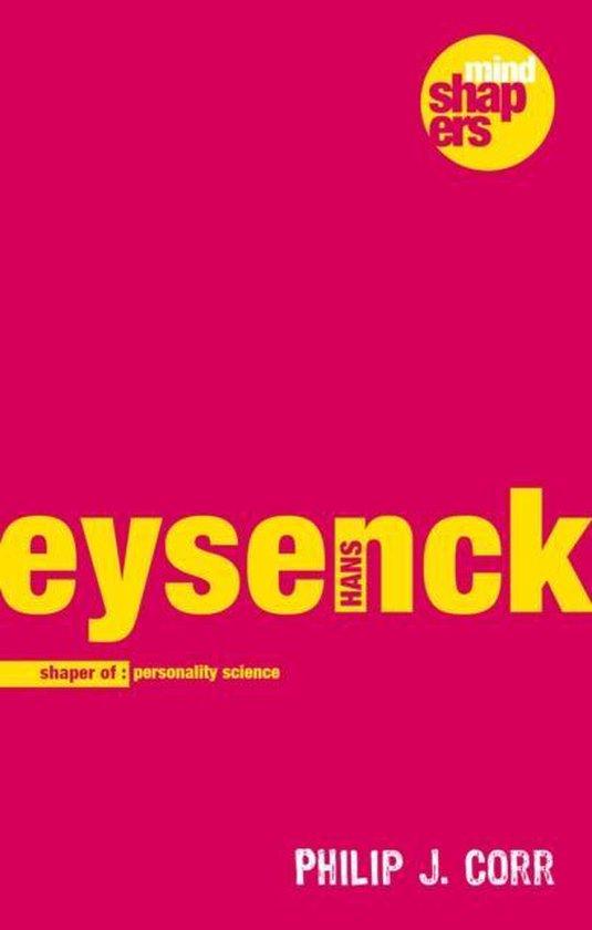 Boek cover Hans Eysenck van Philip J Corr (Hardcover)