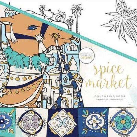Kaisercraft Kleurboek voor Volwassenen - Spice Market - Kaisercraft |