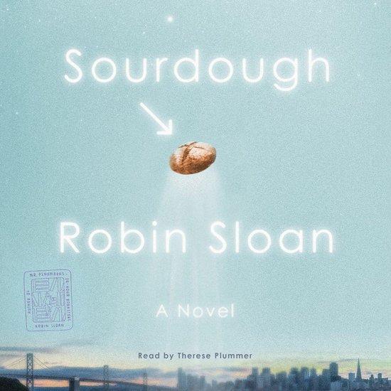 Boek cover Sourdough van Robin Sloan (Onbekend)