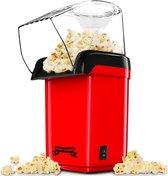 Gadgy Popcorn Machine - Hetelucht Popcorn Maker - 1200 watt - 27 cm -...