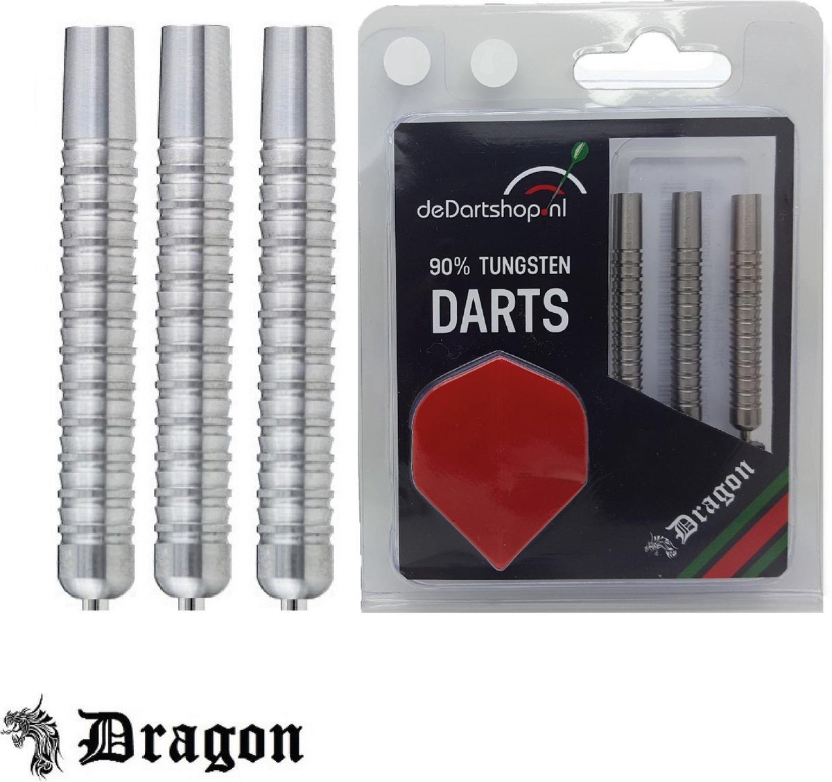 Dragon Darts 1 Professional 90% Tungsten - 24 gram dartpijlen