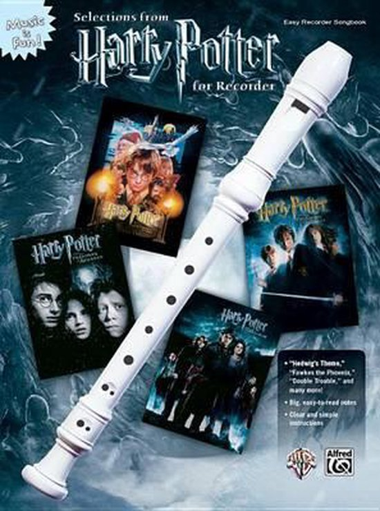 Selections from Harry Potter for Recorder