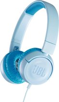 JBL JR300 Blauw - On-ear kinder koptelefoon