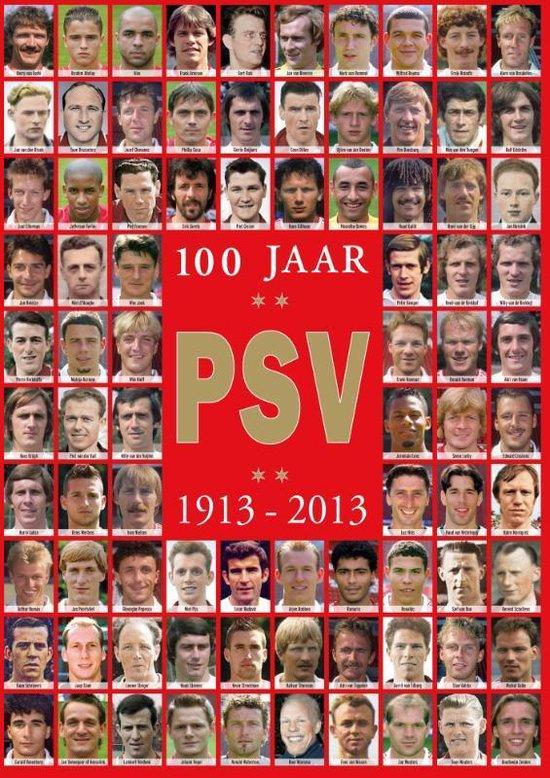 Cover van het boek '100 jaar PSV' van Hugo Borst