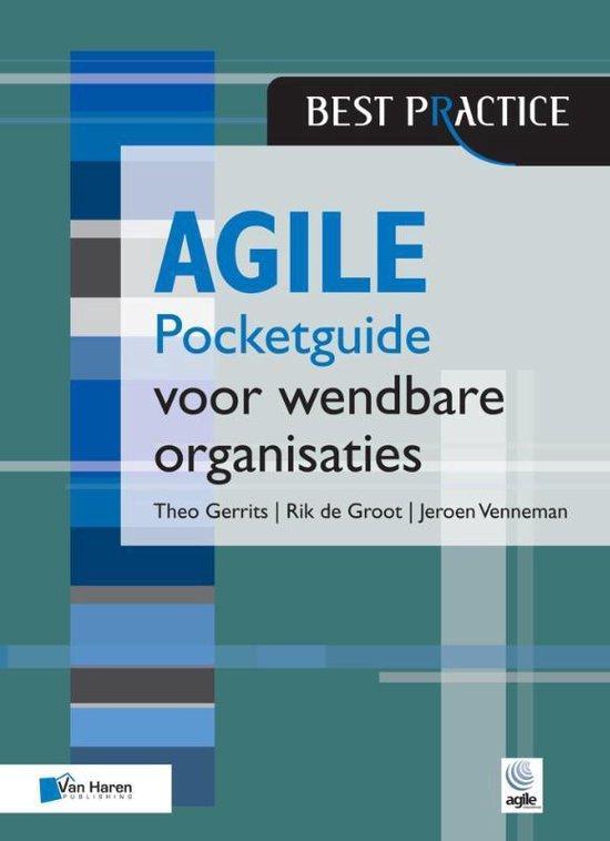 Boek cover Agile Pocketguide Voor Agile Organisaties van Venneman, Jeroen (Paperback)