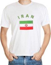 Iran t-shirt met vlag 2xl