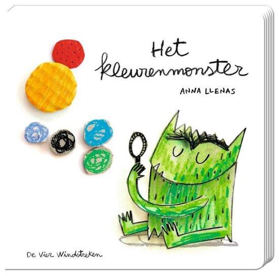 Boek cover Het kleurenmonster van Anna Llenas (Onbekend)