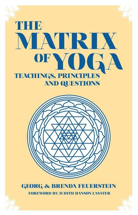 Omslag van The Martix of Yoga