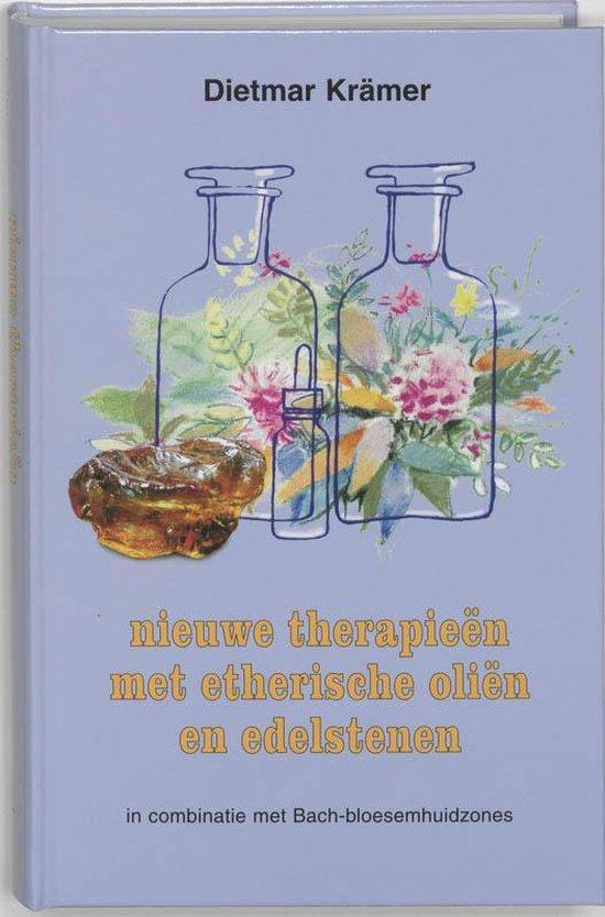 Boek cover Nieuwe therapieen met etherische olien en edelstenen van D. Kramer (Hardcover)