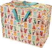 Rexinter shopper/opbergtas Colourful Creatures shopper/opbergtas Party Train