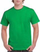 Felgroen katoenen shirt voor volwassenen XL (42/54)