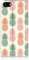 Bookcover iPhone 5s Ananas