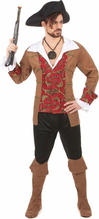 Piraten kostuum voor heren  - Verkleedkleding - Medium