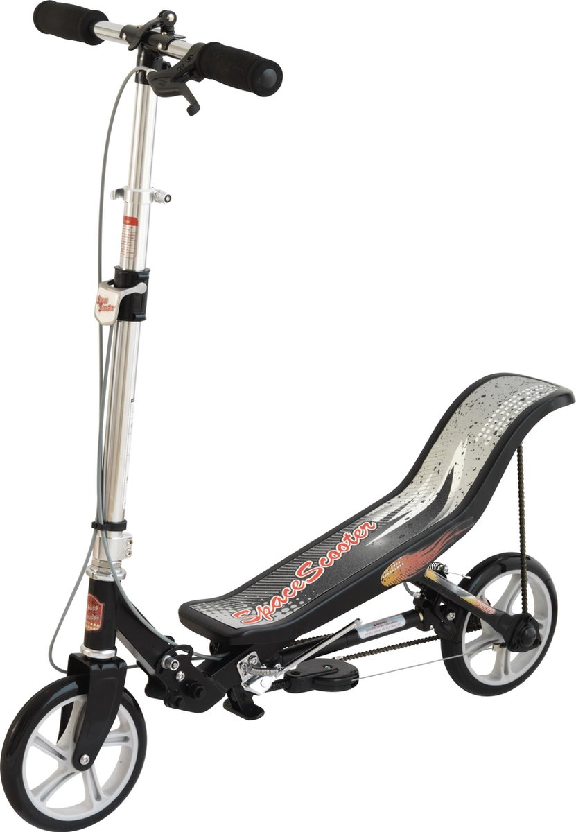 Space Scooter Zwart/Wit tot 90 kg - Step