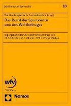 Das Recht der Sportwette und des Wettbetruges