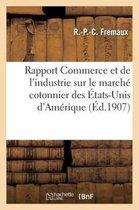 Rapport Commerce industrie sur marche cotonnier Etats-Unis
