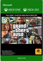 Grand Theft Auto IV - Xbox One Download / Xbox 360 Download