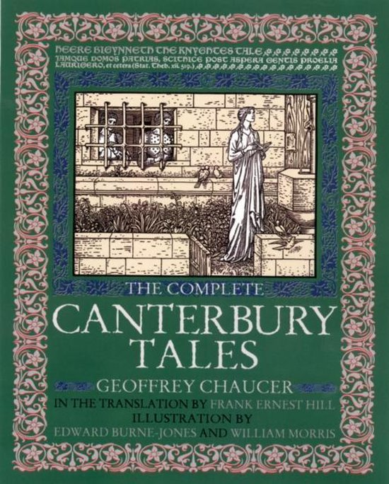 Boek cover The Complete Canterbury Tales van Geoffrey Chaucer (Hardcover)