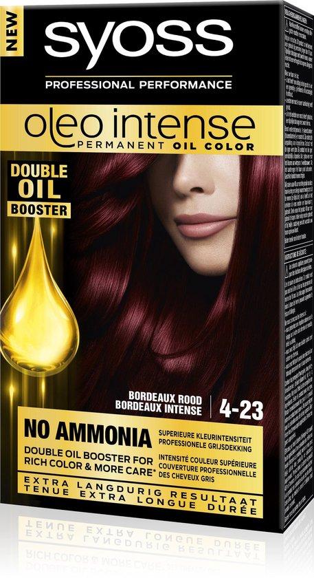 SYOSS Color Oleo Intense 4-23 Bordeaux rood Haarverf - 1 stuk