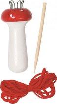 Punniken set/punnikset paddenstoel - Creatief en knutsel speelgoed