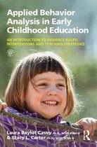 Applied Behavior Analysis in Early Childhood Education