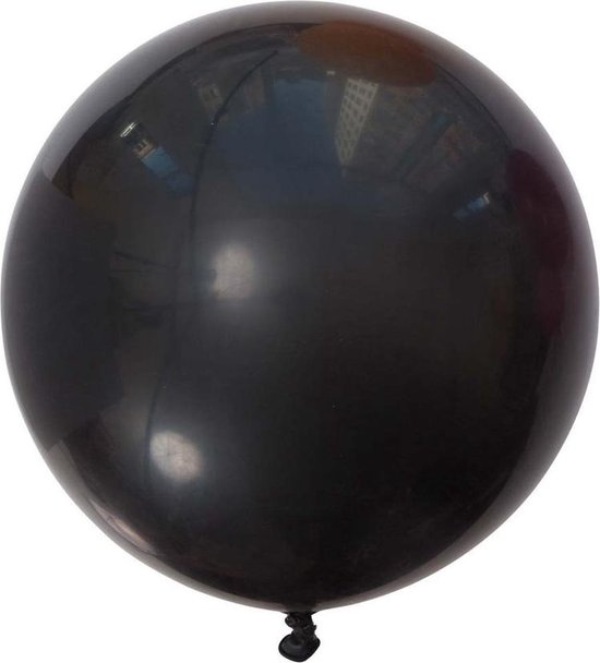 MEGA Topping ballon 90 cm Zwart