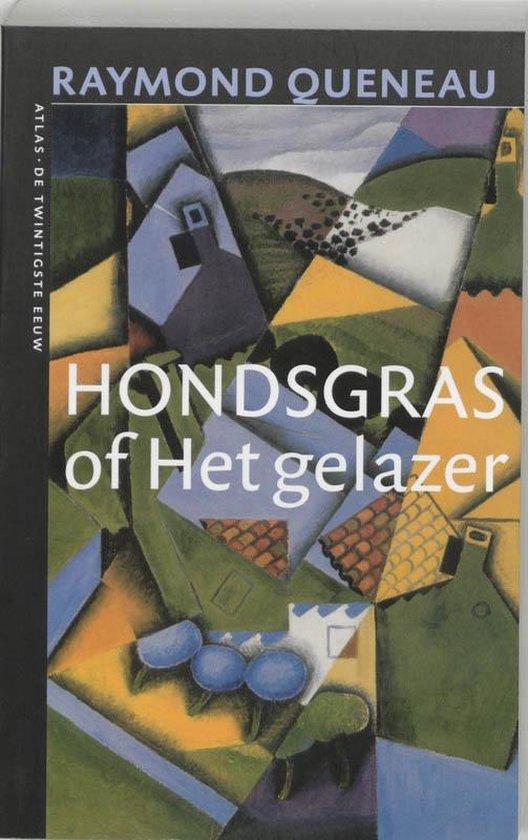 Cover van het boek 'Hondsgras, of Het gelazer'