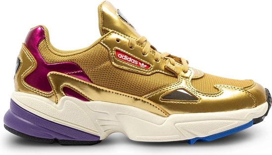 bol.com | Adidas Dames Sneakers Falcon W - Neon - Maat 39⅓