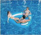 Opblaas lounge zwembad voor 3 personen - Luxe lounge zwembad opblaasbaar