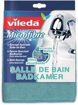 Vileda badkamer spons extra absorberend - Blauw